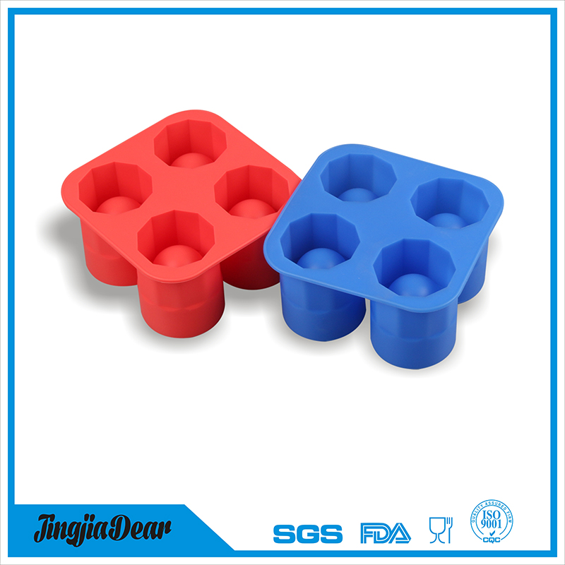 Silicone COOL ice SHOOTERS Shot Glass Mold