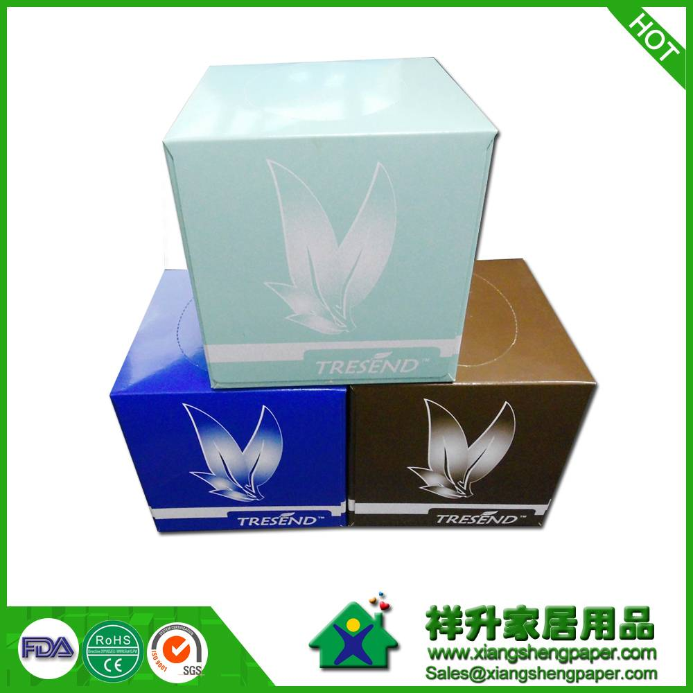 200x200mm 2ply 100sheets box facial tissue