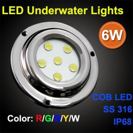 ss316 ip68 led marine light/underwater boat light/led yacht lighting