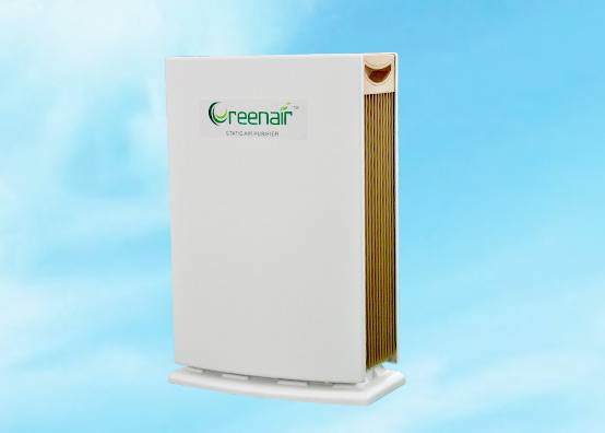 smart design electrostatic air purifier with 5 stages purification system