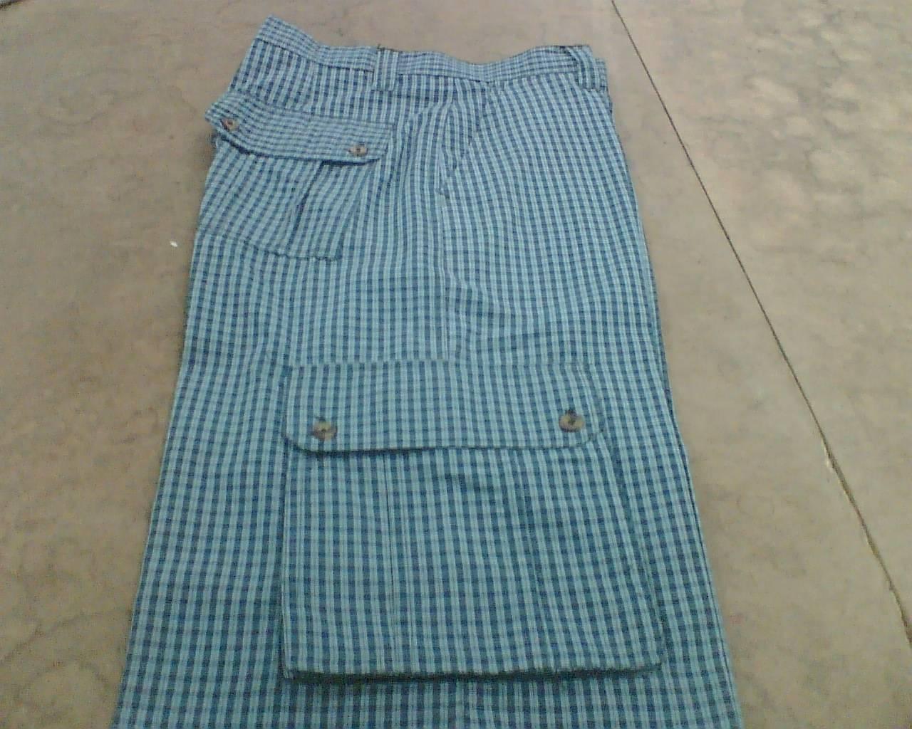 Yarn Dyed Cargo Short