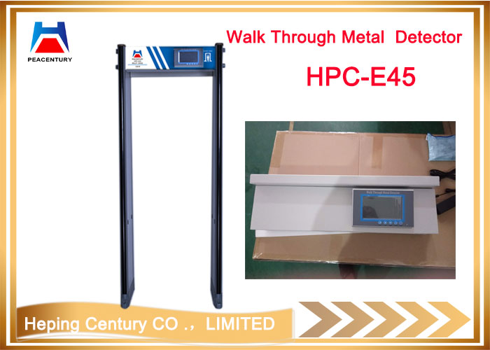 Door frame metal detector high sensitivity and quality walk through metal detector