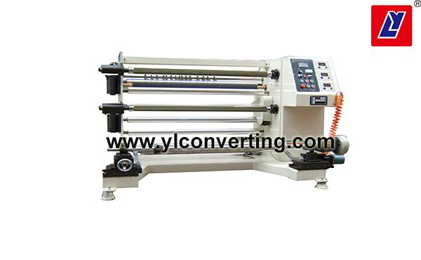 Precision slitting machine with straight knife