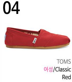 Red Toms Canvas Shoes Women Classics Black Casuals