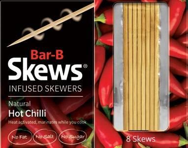 Hot Chilli Skews