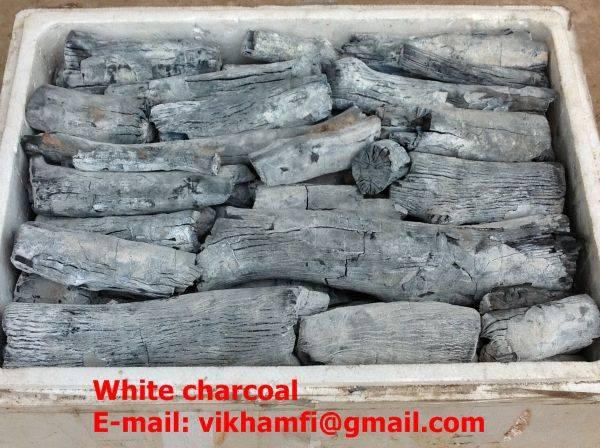 Vietnam high quality of white charcoal (binchotan)