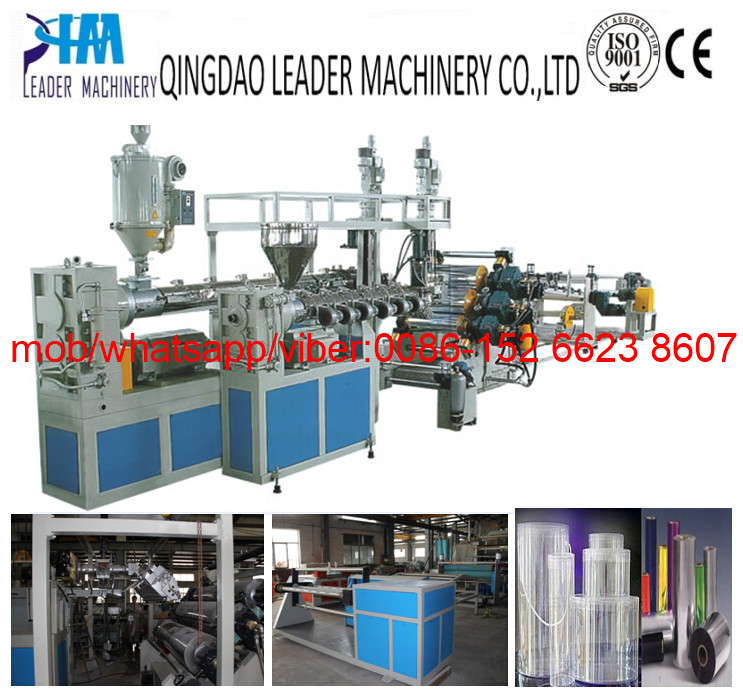 Single Layer or Multi-layer PET plastic sheet extrusion line