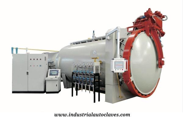 Industrial pressure vessel automatic composite autoclave