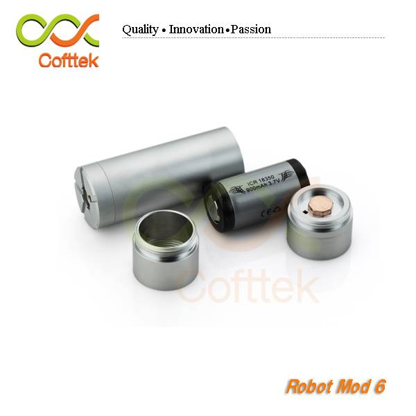 2014 Robot 6 with 18350/18650 battery mechanical mod