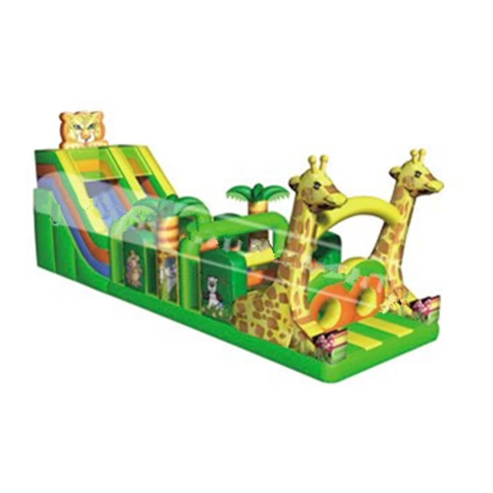 Factory price inflatable obstacle course for kids