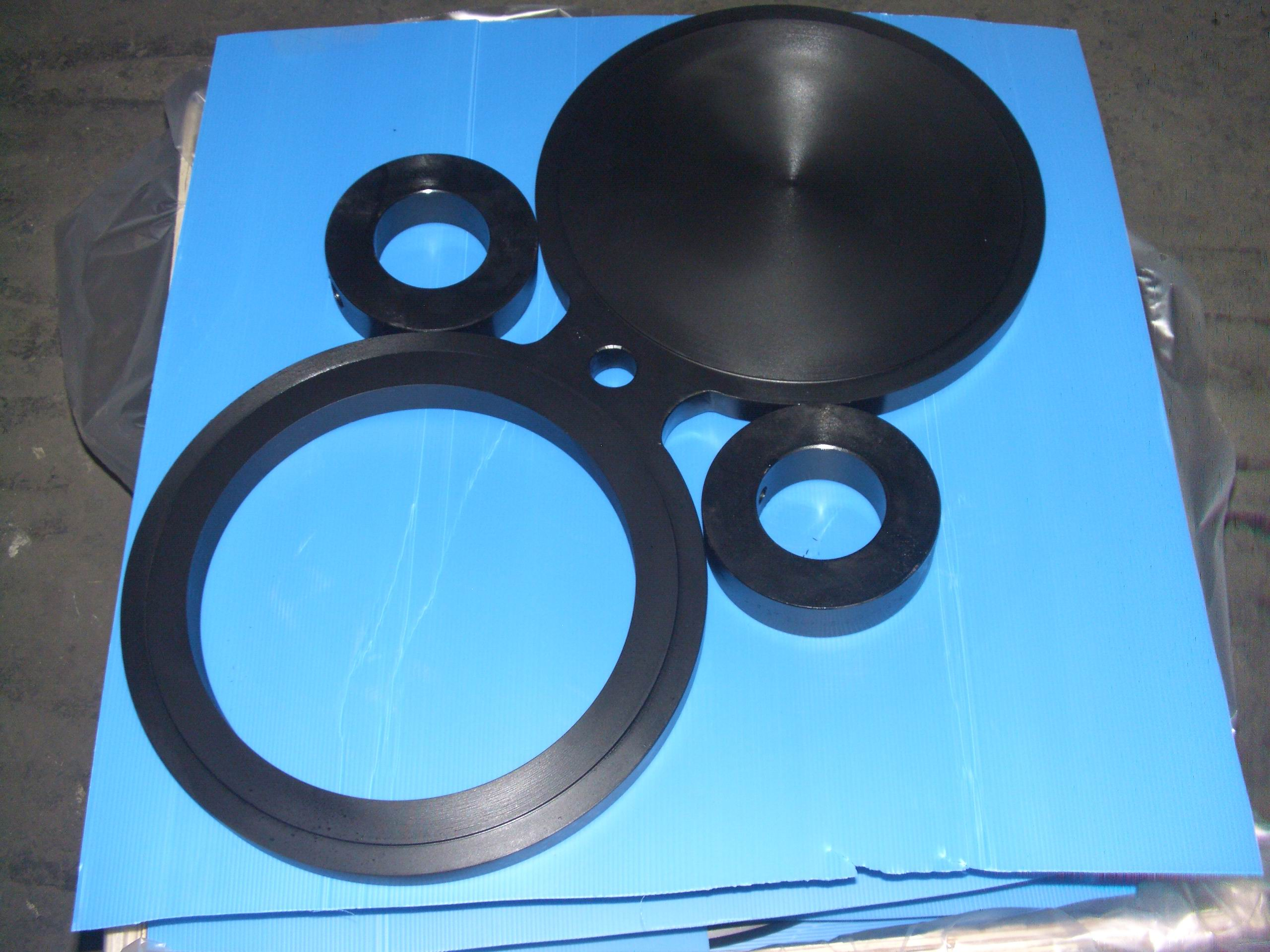 A182 Alloy Steel Spectacle Blind Flange: ASTM A182 F11, F22, FF Spectacle Blind Flanges, DIN 2656