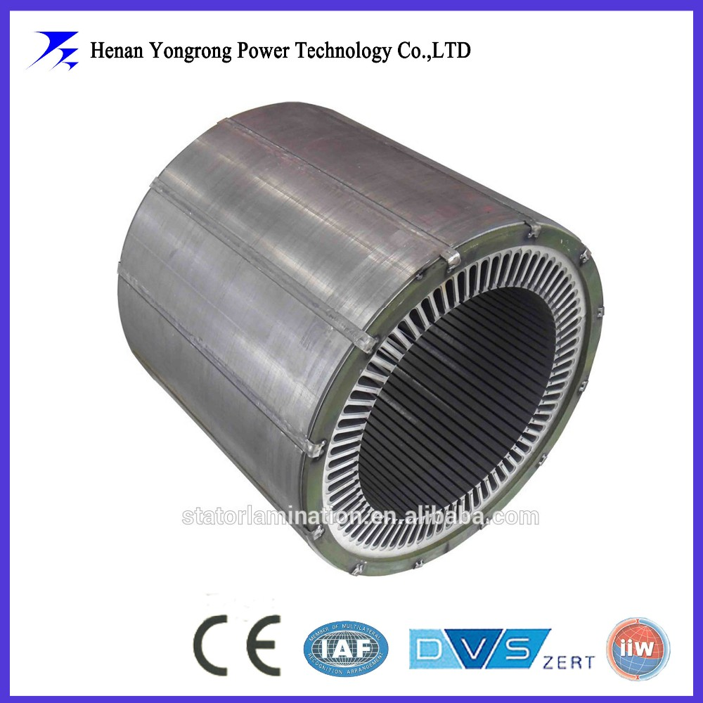 wind turbine generator stamping silicon steel stator laminated core