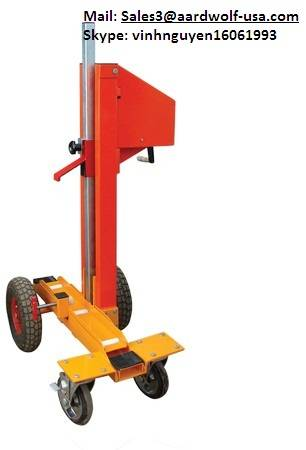 ELEVATING HAND CART, buddy for stone, stone buggy, stone moving cart, stone transporting cart, cart