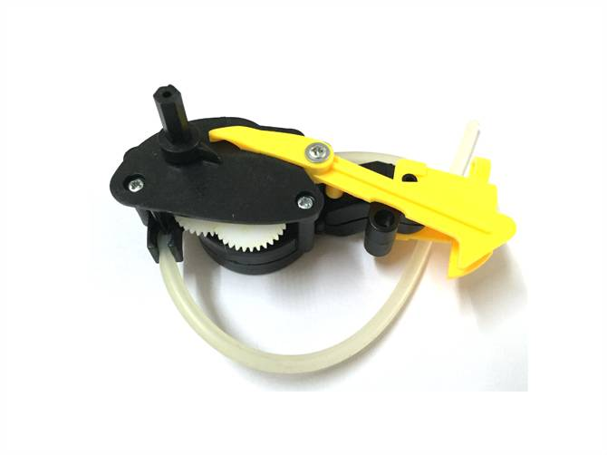 Gear box toy part for hand bubble machine toys