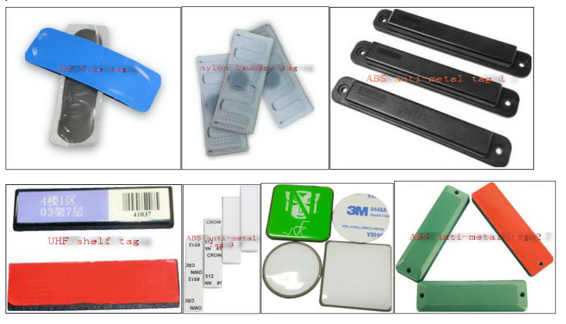 UHF nylon laundry tag/RFID anti-metal tag