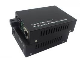 10/100 Mpbs Single Fiber Media Converter