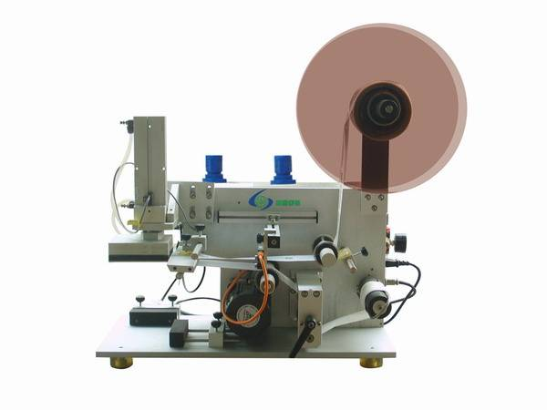 GLB-100 Semi automatic flat box labeling machine