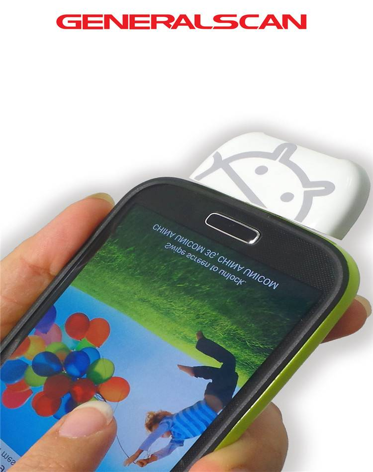 ScanBuddy GS X5 Mini weightless Micro USB 2D Barcode Scanner for OTG Android Smart Phone and PC