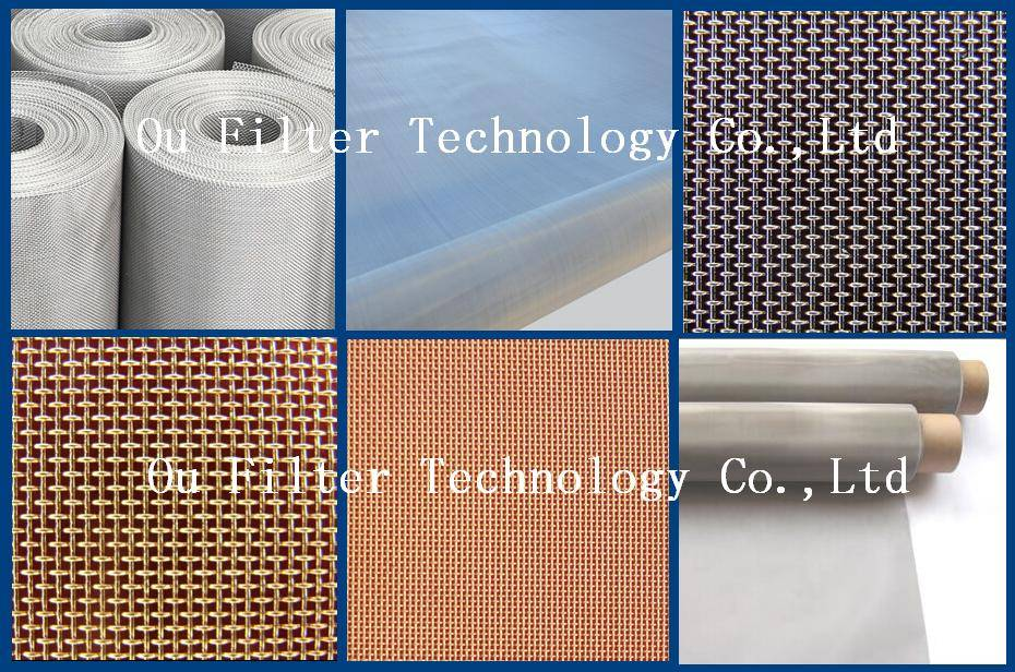 Stainless Steel Mesh and copper mesh for Paper making