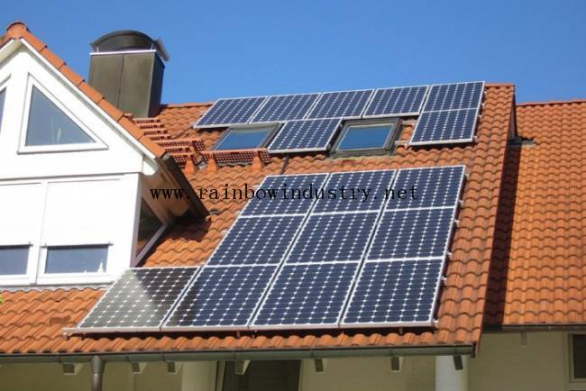 grid off Home solar power system