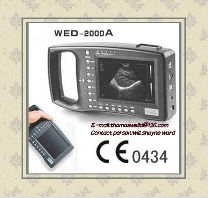 Veterinary /husbandry /animal portable ultrasound scanner-web-2000AV