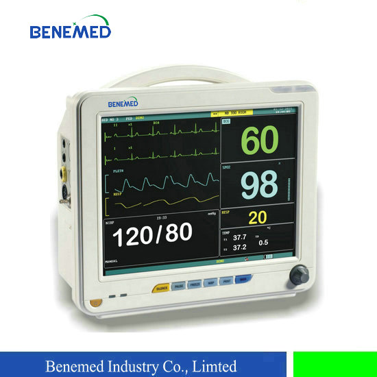Hot sale 12 inch multi parameter hospital use patient monitor