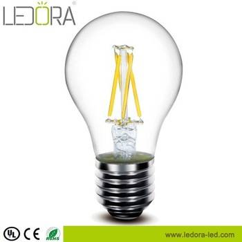 A60 filament light 2200k 2700k dimmable vintage edison style led bulb