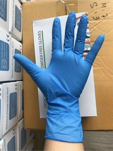 Best Selling Powder Free Nitrile Hand Gloves
