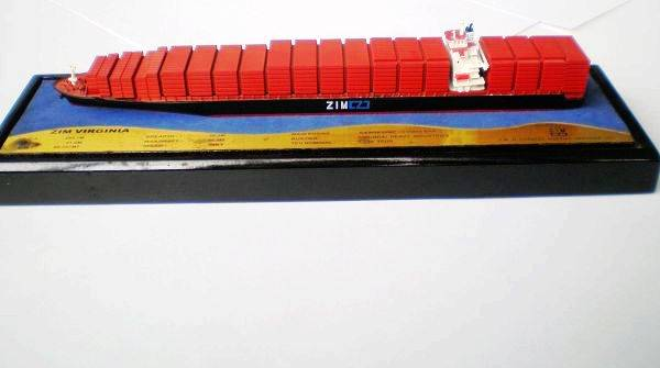 ZIM Container Ship Model
