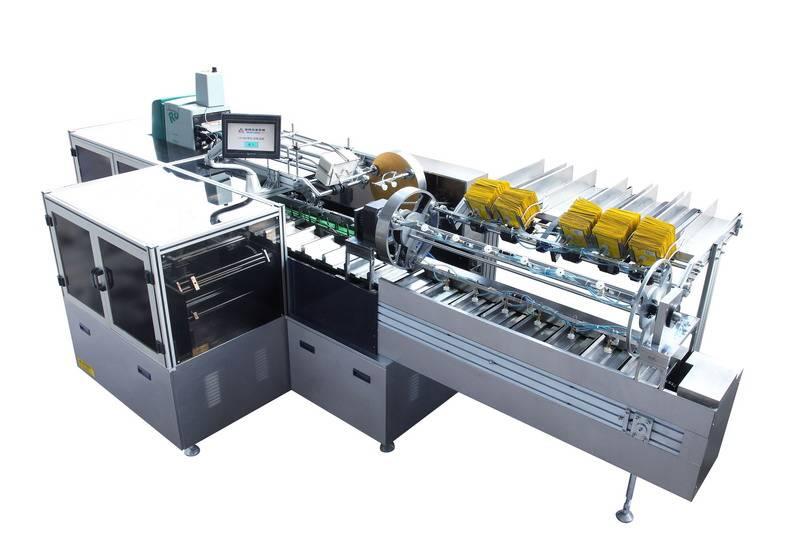 High Speed Wet Wipe Cartoning Machine