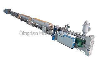 PE Gas Water Supply Pipe Extrusion Line