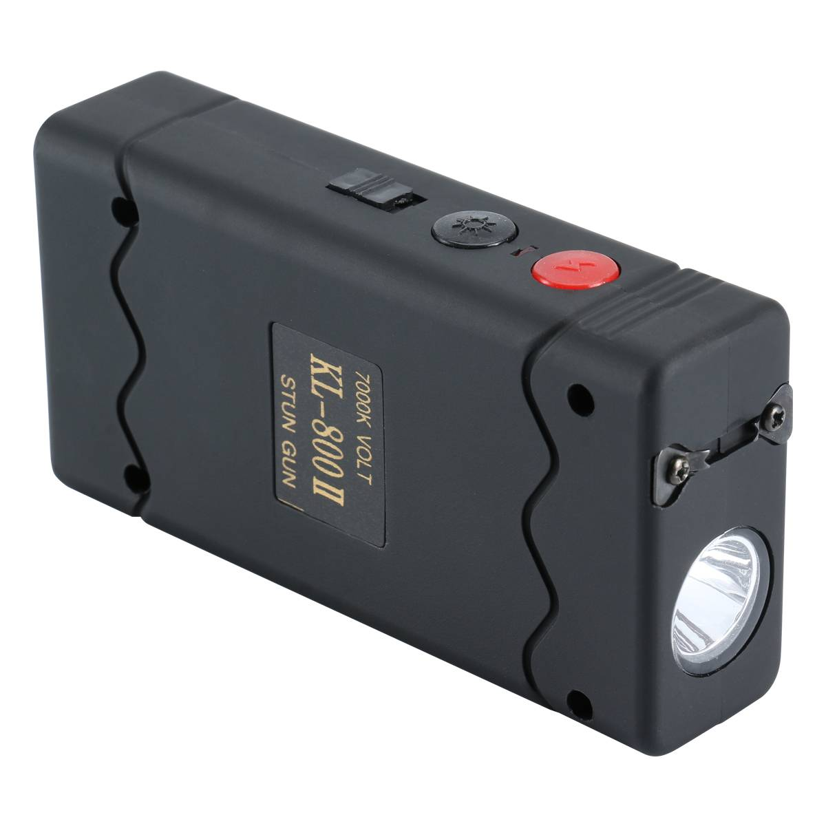 Power Maximum Stun Gun, 25 Million Volt, with LED Light and Disable Pin Pink/KL-800II-P2