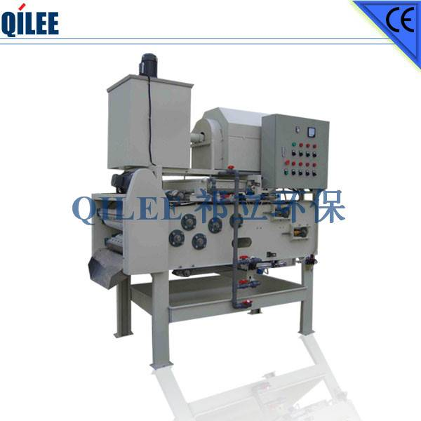 Chemical Industry Sludge Dehydrating Machine SS304 Materials