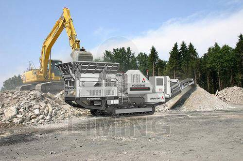 Mobile crusher plants made by LIMING