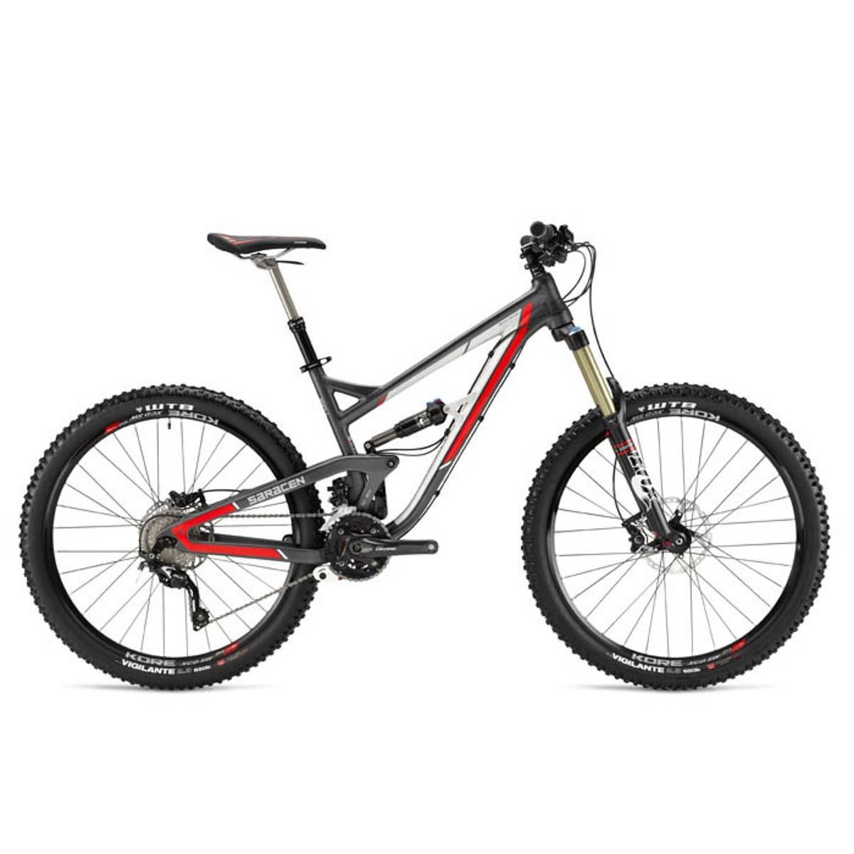 Saracen Ariel 151 Mountain Bike 2015 - Full Suspension MTB $2,450.00