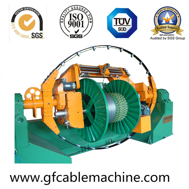 Bow-Type Cable Wire Stranding Machine