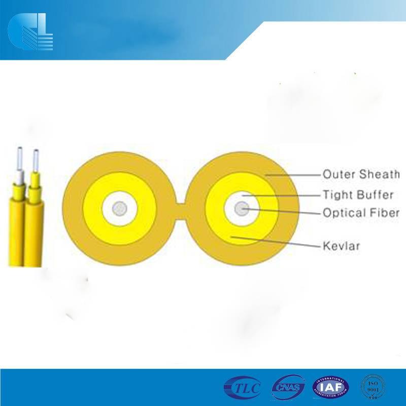 Indoor Zip-cord Interconnect Fiber Optic Cable(GJFJV)