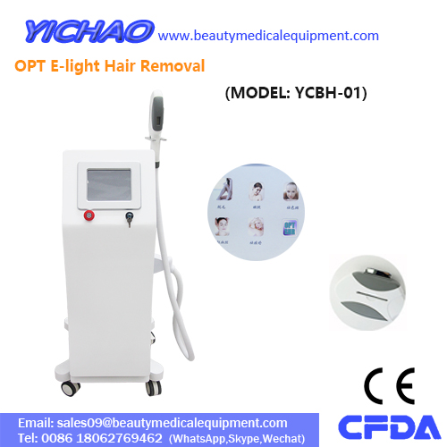2018 Popular IPL Elight 755nm 1064nm Depilation Hair Removal Machine