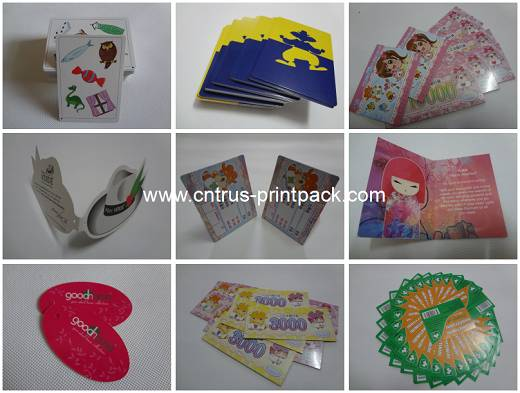 Gold / Silver Foil Printing Cards