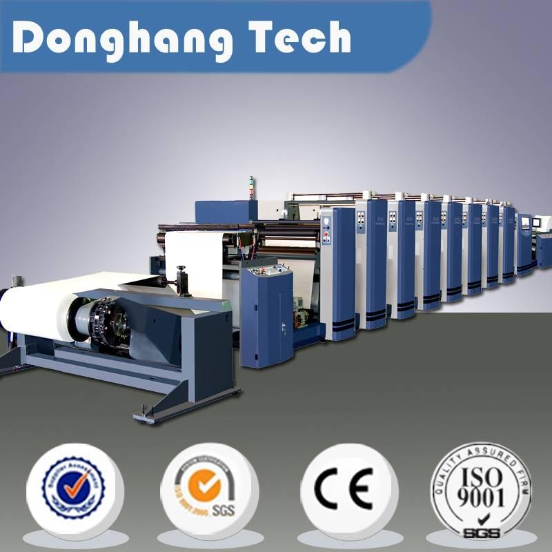 flexo printing machine for pre printing