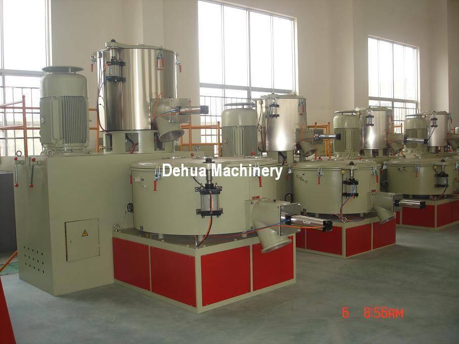 High speed hot cold PVC mixer machine