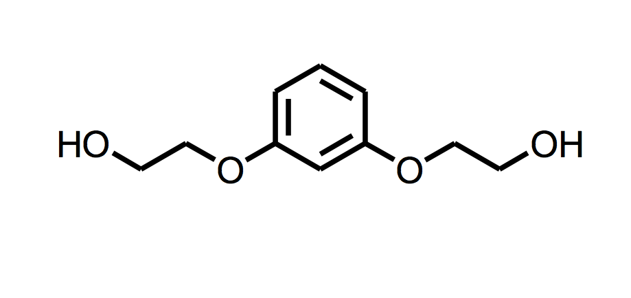 Bis(2-hydroxyethyl) ether of resorcinol (HER)