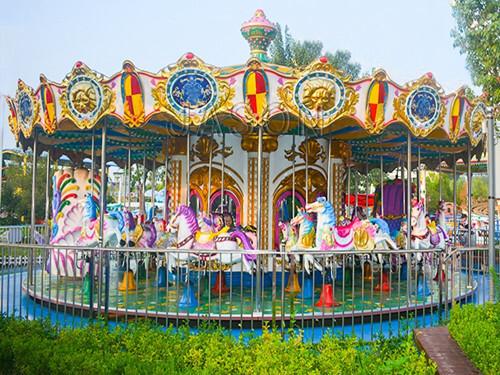 Carousel Horse Ride / Amusement Park Carousel