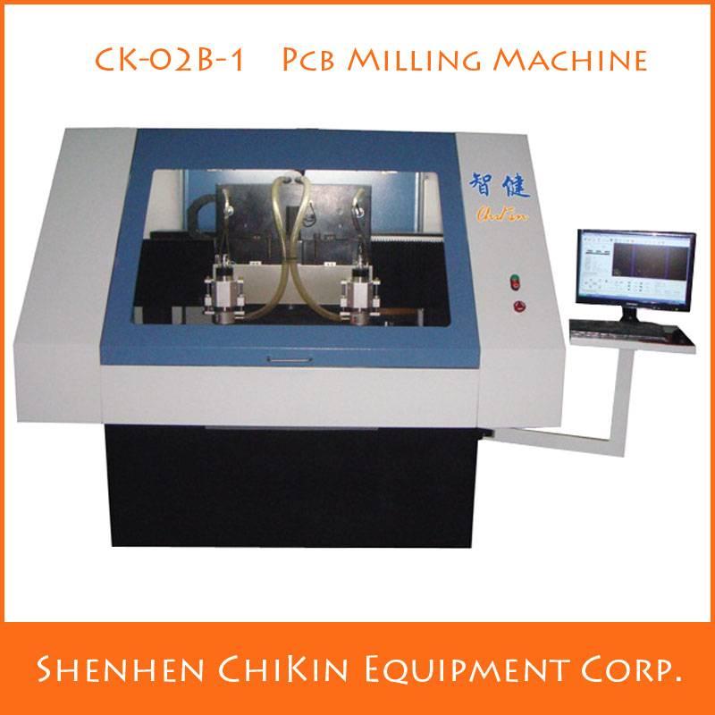 China high performance PCB forming machine CNC chikin milling machine