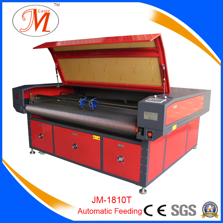 SGS Audited Car Cover Cutting Machine (JM-1814T-AT)