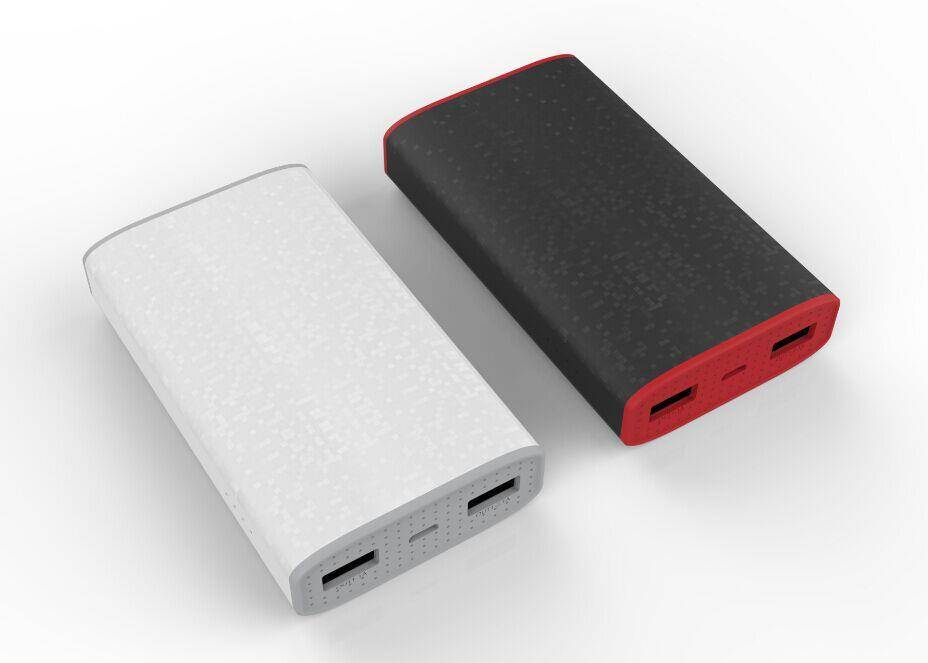 Portable Power Bank 6000 mAh with Unique 3D Design