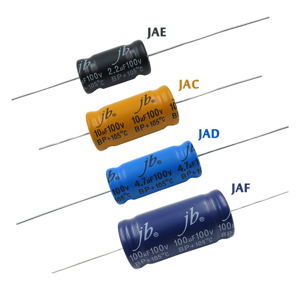 Axial Aluminum Electrolytic capacitors