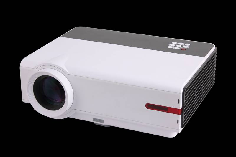 YI-808 HD projector with HIFI sound and bulit-in WIFI