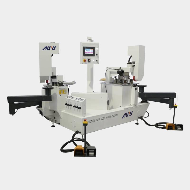 Automatic curve edge bander machine/curved edge banding machine