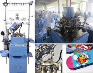 Computerized Plain Sock Machine/Hosiery Machine (HY-6F-321)
